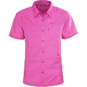 Meru Melissia Camicia funzionale maniche corte Donna, pink